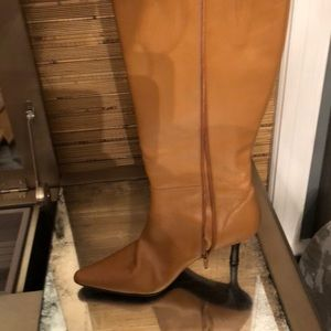 Banana Republic Camel colored tall boots size 8.5